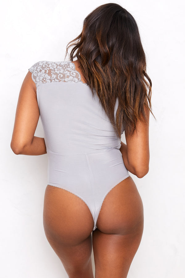 Lady Like Bodysuit | Silver Fox