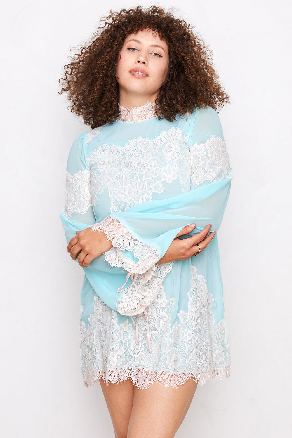 Queen 4 A Day Dress | Bright Baby Blue