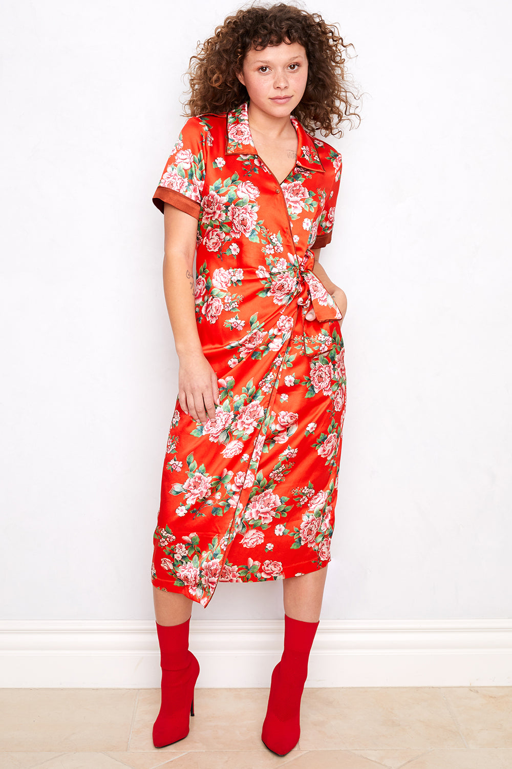 Perfectly Taylored Dress | SHAHbby Floral