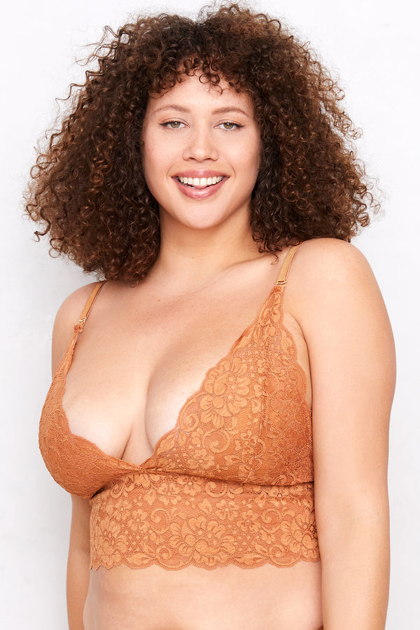 Smarty Bralette | Brown Sugar