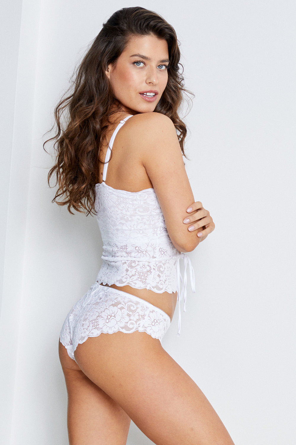 Straight Laced Panty | Blanc