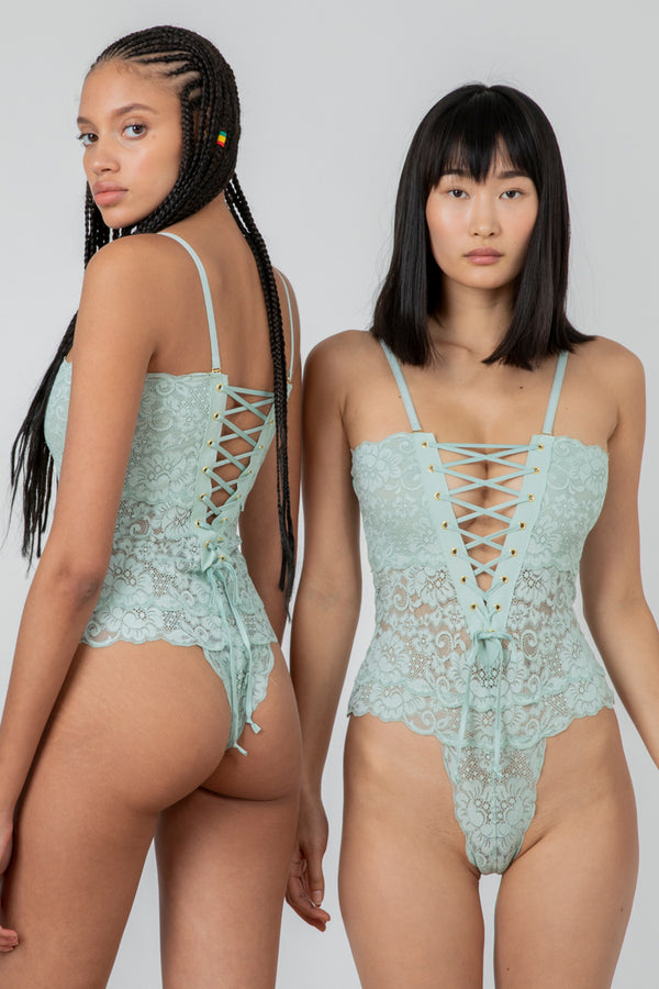 Reversible Spinster Bodysuit | Something Blue