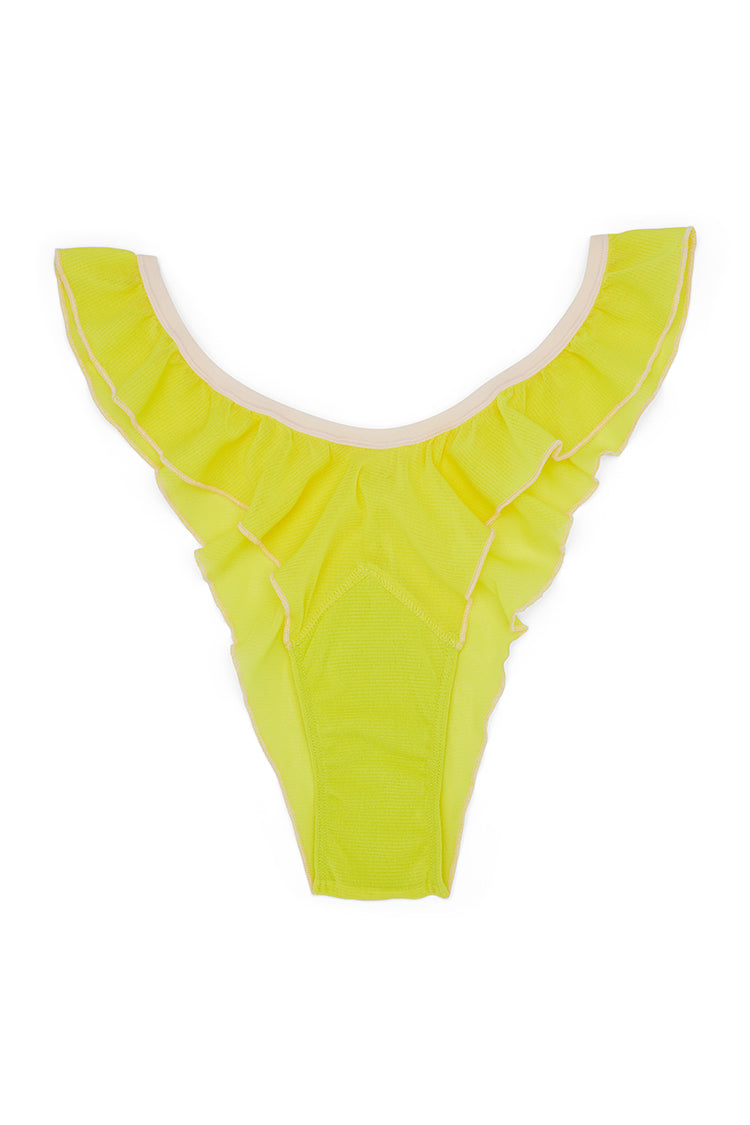 Fly Girl Mesh Panty | Lime Lite