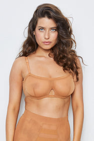 Wired Bra | Brown Sugar