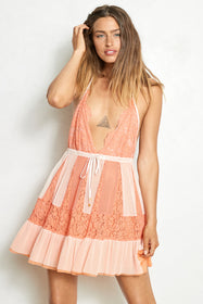 Too Far Gone Dress | Coral Beach