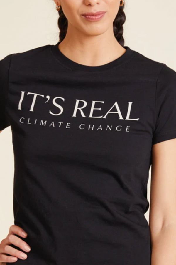 """Its Real"" Climate Change Short Sleeve Top 
