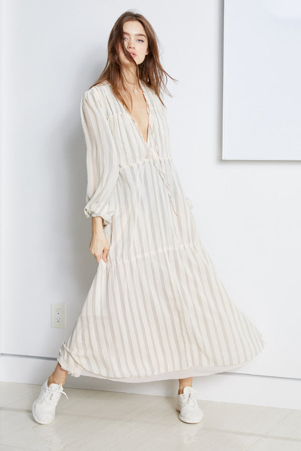 Lovin' LindHAH Dress | Pin Stripe