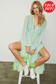 Lovin' LindHAH Dress | Wasabi