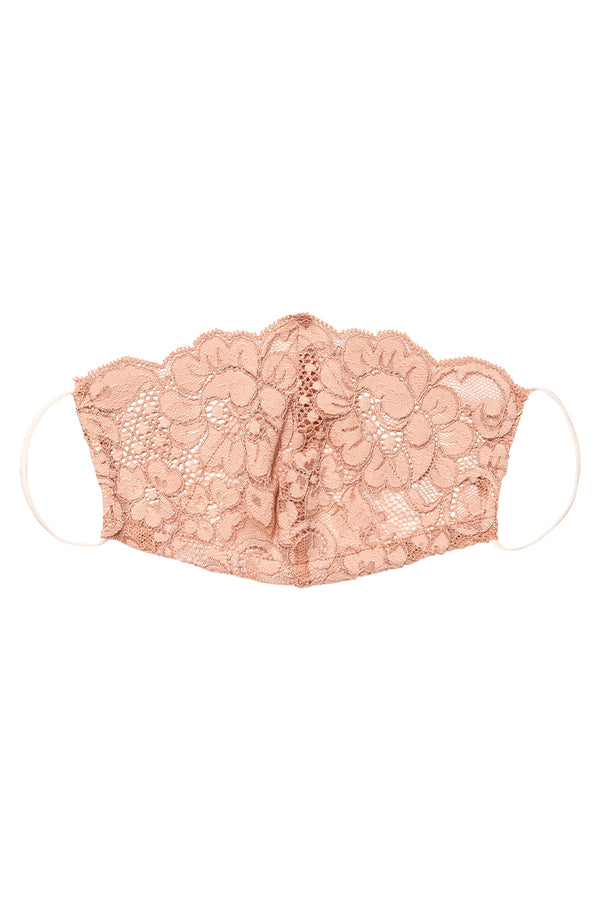 HAHT Mask Lace | Copper Rose