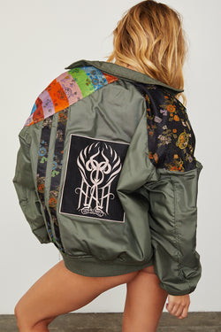 1 Of HAH Kind Jacket - Multicolor
