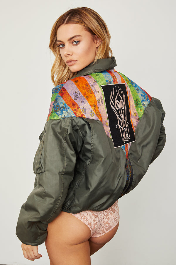 1 Of HAH Kind Jacket - Rainbow Chinois