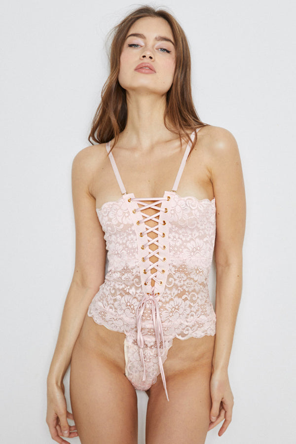 Spinster Reversible Lace Bodysuit | Naked Truth