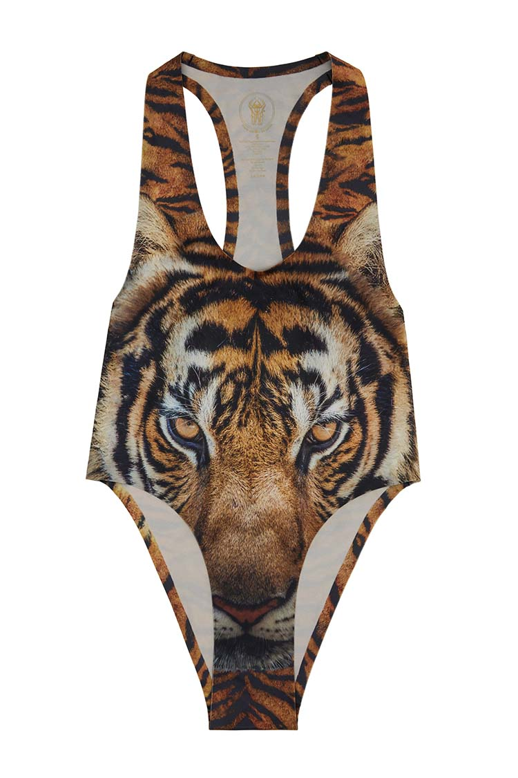 Straight Up Bodysuit | Eye Of The Tiger