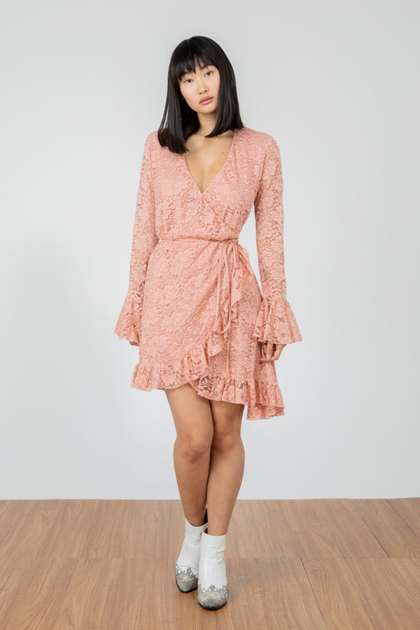Wrap Star Dress | Copper Rosé