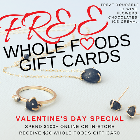 FREE Whole Foods Gift Cards For Valentine's Day! | Limbo