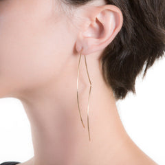Alambre Vela Earrings