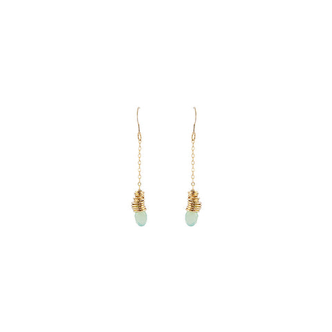 Angle Stacked Medium Earrings