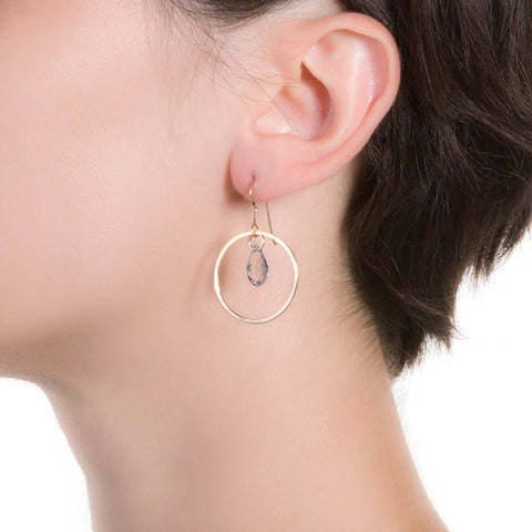 Bubble Crystal Earrings