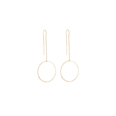 Bubble Threader Earrings
