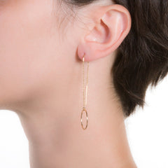 "Bubble Threader Earrings | 2.5"" or 3"" Earrings"