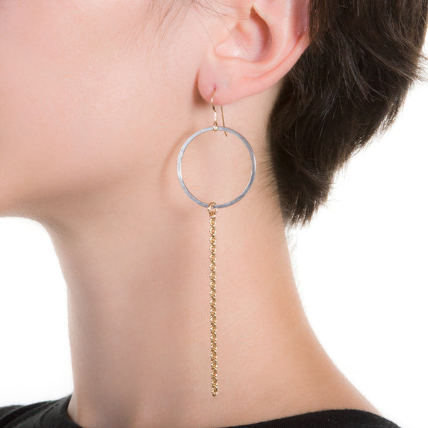Cadena Mirrored Earrings