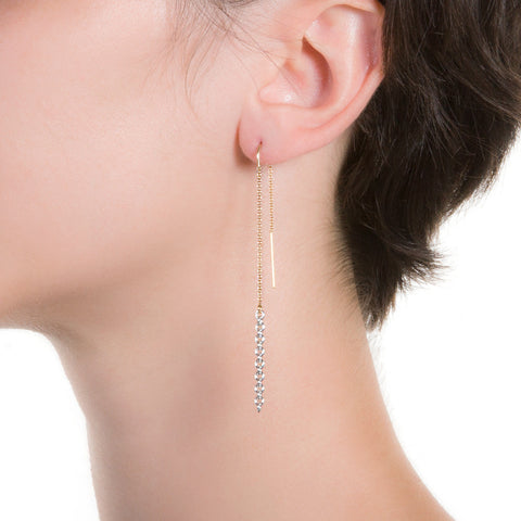 Cadena Threader Earrings  | 3