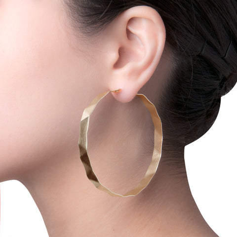 Dobla Oru Large Hoops  | 2.5