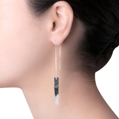 "Dobla Oru Threaders | 3.25"" Earrings"