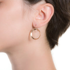 Litho Hooked Earrings