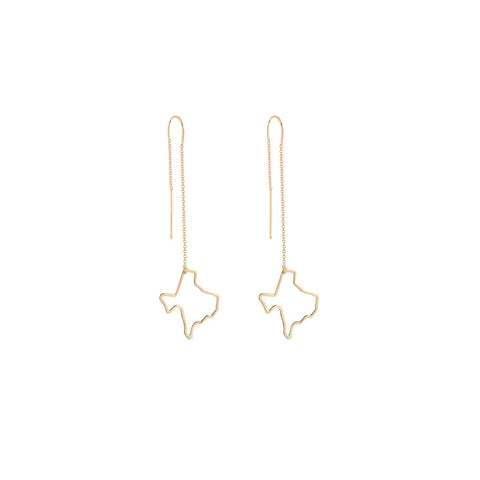 Texas Threader Earring