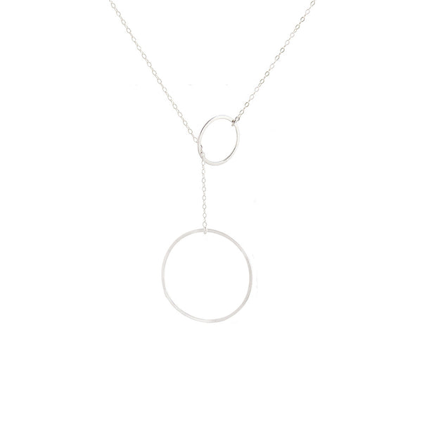 Bubble Uno Lariat Necklace