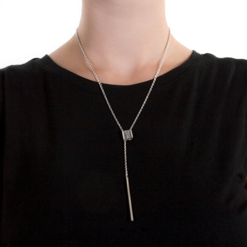 Ferro 4 Lariat Necklace