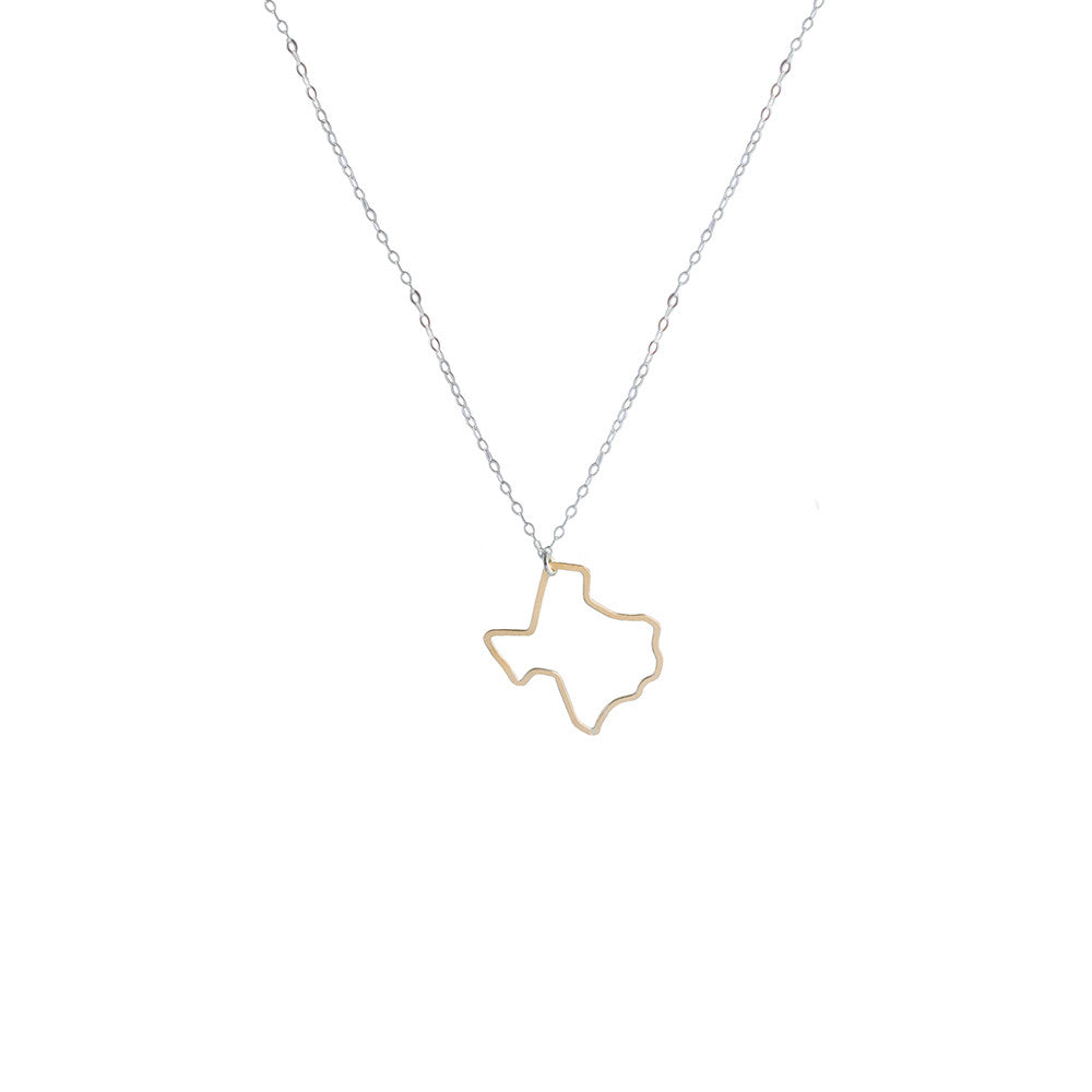 Texas pendant necklace limbo jewelry texas pendant necklace mozeypictures Images