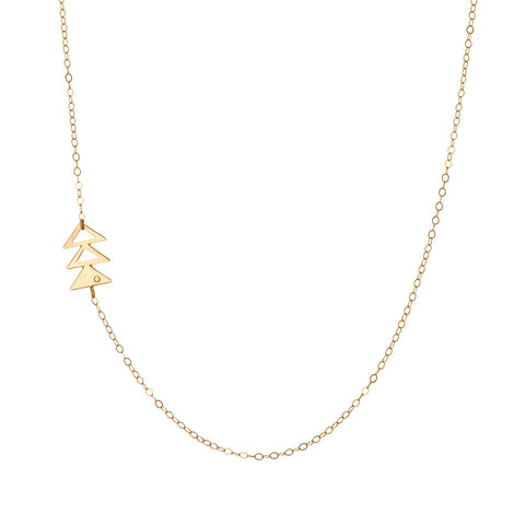 Drei Opposite Necklace
