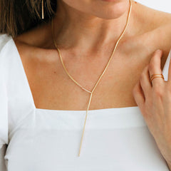 Ferro 2.0 Lariat Necklace