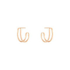 Dual Hoop Earrings
