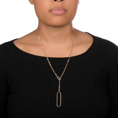 Dual Lariat Necklace