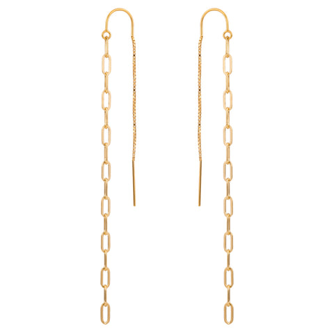 Link Dual Threader Earrings | 3.5