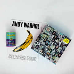 Little Limbo's Andy Warhol Activity Kit Care Package
