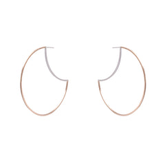 "Zama Maya Hoop Earrings  | 2.5"" Earrings"