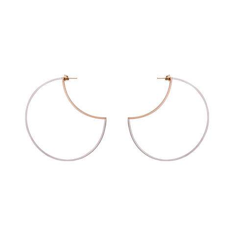 Zama Maya Hoop Earrings  | 2.5