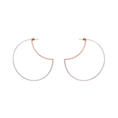 Zama Maya Hoop Earrings