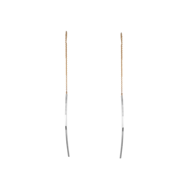 "Zama Maya Threader Earrings | 3.75"" Earrings"