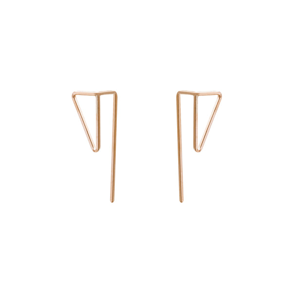 Zama Peek Tri Earrings