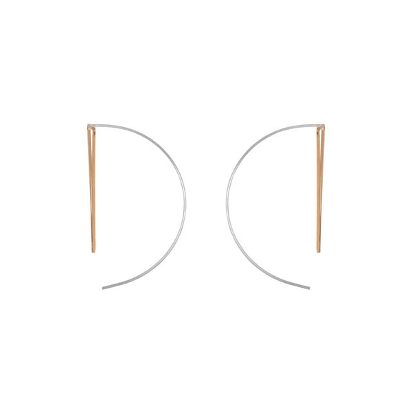 Zama Peek Hoop Earrings