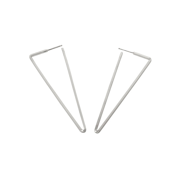 Zama Peek Large Stud Earrings