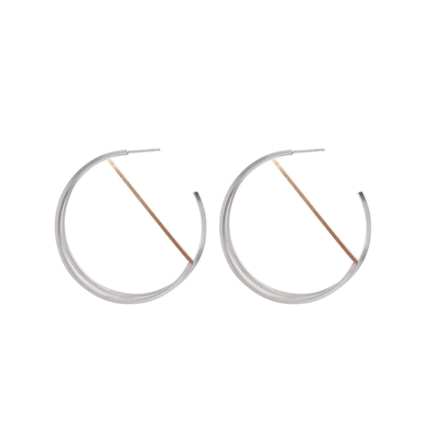 Zama Tulum Hoop Earrings