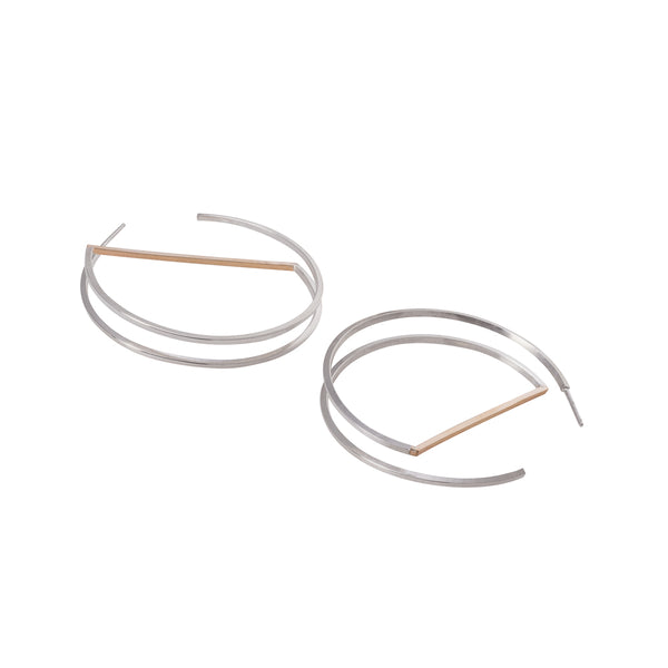 "Zama Tulum Hoop Earrings  | 1.75"" Earrings"