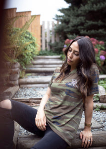 Let's Take this Outside Camo Tee