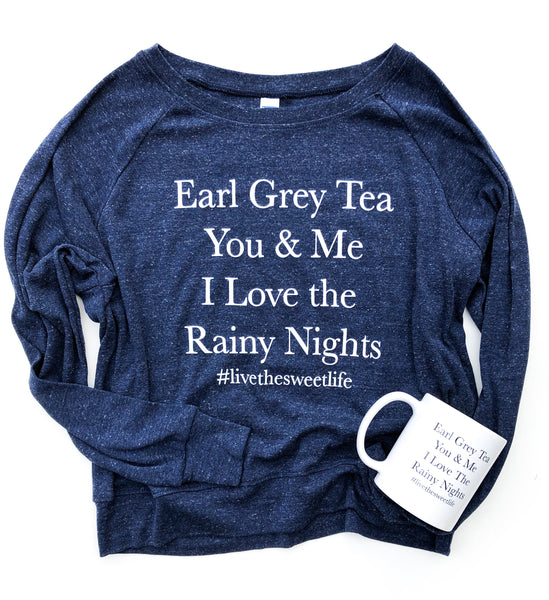 Earl Grey Long Sleeve Tee
